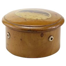 Vintage Mauchline Ware Spool Container - Red Tag Sale Item