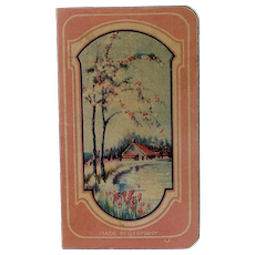Vintage Paper Needle Book