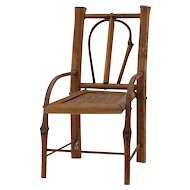 Antique Small Bentwood Doll Chair