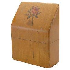 Vintage Mauchline Ware Needle Case