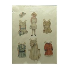1910 Lettie Lane Paper Doll
