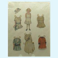 1910 Lettie Lane Paper Doll