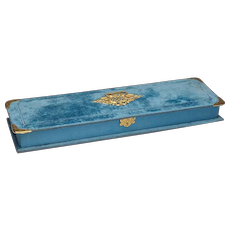 Elegant Fry's Chocolate Box Circa 1904 - 9k Gold Corners