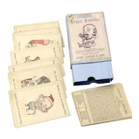 19th Century Boxed Game of Happy Families