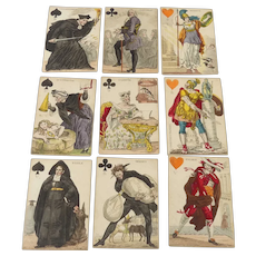 Antique Transformation Playing Cards 43 of 52