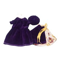 Vintage Dolls Three Piece Outfit