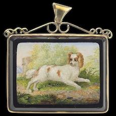 Antique Fine Micro Mosaic Pendant
