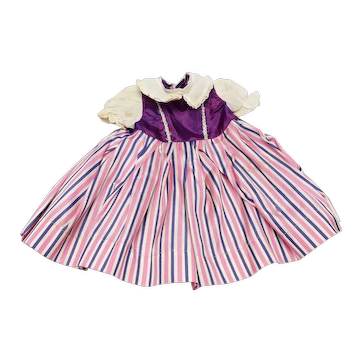 Vintage Factory Composition Doll Dress