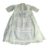 Lovely Vintage Fine Lawn Doll Dress