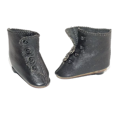 Pair of vintage French Fashion Doll Boots