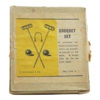 Vintage Croquet Set Doll Accessory