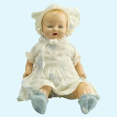 Vintage Composition Baby Doll Like  Baby Dimples