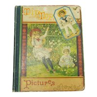 Lovely Doll Related Victorian Book Circa 1885