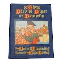 1910 Children's Book The Pied Piper