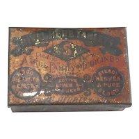 Vintage Tin Rival Herb Tablets