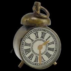 Tiny Clock and Compass Dollhouse Accessory