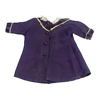 Vintage Wool Doll Coat