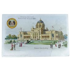 Vintage Souvenir World's Fair 1904 Postcards