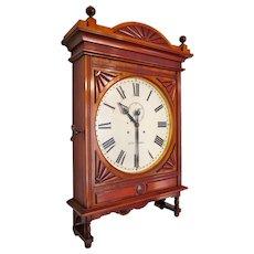"Impressive Seth Thomas 18"" Lobby Clock in Gorgeous Cherry"