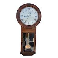 Welch, Spring & Co Regulator #2 Wall Clock in Beautiful Rosewood