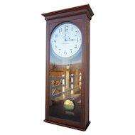 Seth Thomas Regulator #4 Clock  in Elegant Mahogany