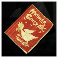 """Rare 'Mother Goose A B C"""", Dean's Rag Book,  #37, 1905"""