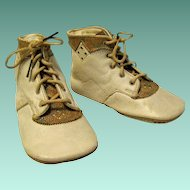 Toddler's Vintage leather High Top Shoes, Multi Color Tongues