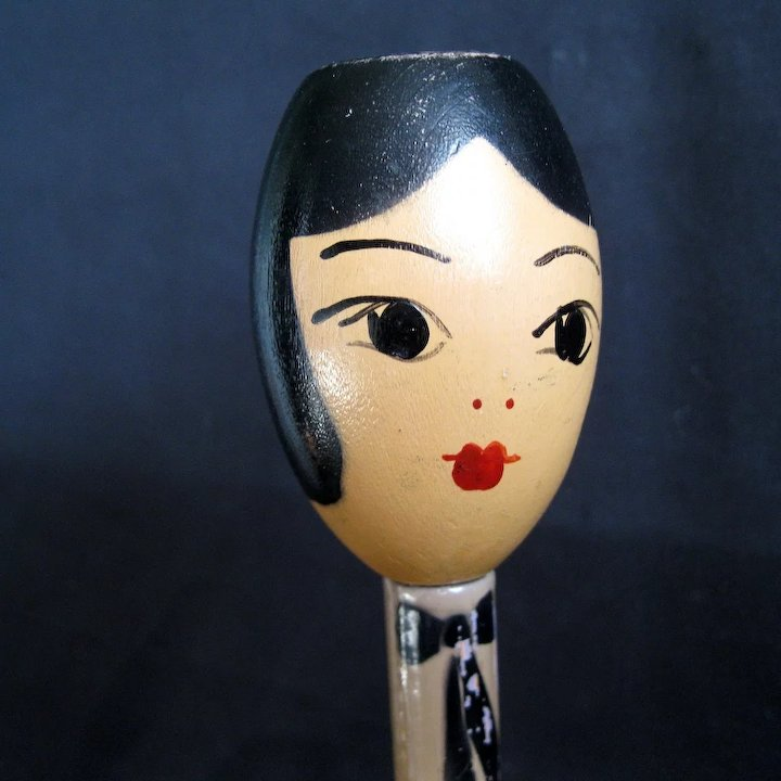 16e44ba3896 Flapper s or lady Head Hat Stand