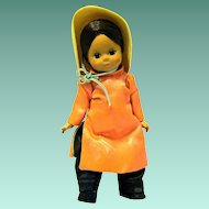 """Mme. Alexander 8"""" Rare VIETNAM doll, 1968-69"""