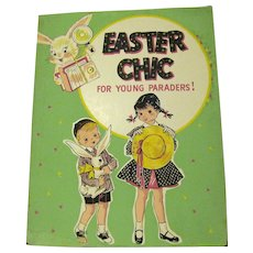 1940's Store Sign for Young Easter Paraders