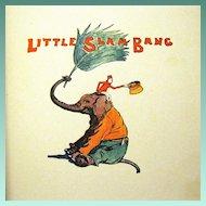 "1928 Sunny R Book, ""Little Slam Bang', Vanderveer, Fletcher Ransom, Illustrator"