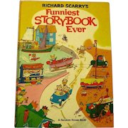 "Richard Scarry's ""Funniest Storybook Ever"", Hardcover, 1972"