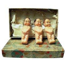 1930's Figural Soap Babies, Original Box