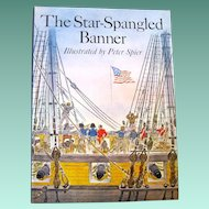 "1973 First Edition of ""The Star Spangled Banner"", Peter Spier, HC"