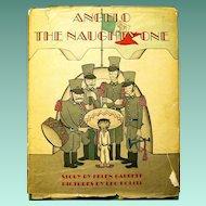 "1944 Children's Book, ""Angelo, the Naughty One"", Leo Politi, Illustrator"