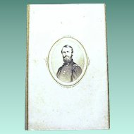 Civil War CDV of Union General Don Carlos Buell