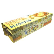 Unused '50's Vintage Egg Cartons for Display of your Dyed Eggs