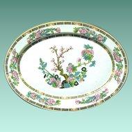 "Syracuse China 14"" Oval Platter ""Indian Tree"" Pattern"