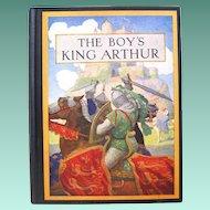 "N.C. Wyeth Illustrates ""The Boy's King Arthur, Sir thomas Malory's History"", Lanier, 1942"