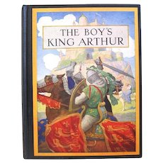 "N.C. Wyeth Illustrates ""The Boy's King Arthur, Sir thomas Malory's History"", Lanier, 1942"