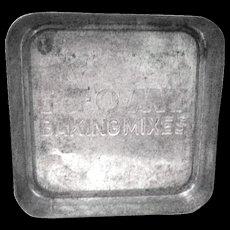 1940's Miniature Py-O-My Advertising Baking Mix Pan