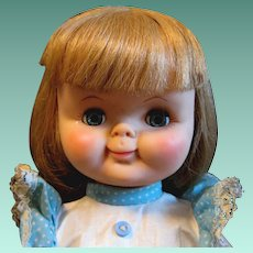 "Pretty 1962 Effanbee Toddler Doll ""Gumdrop"" in Original Dress"