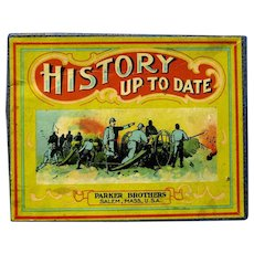 "1918 Parker Bros. Game, ""History Up-to Date"""