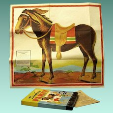 "Vintage WWII Game called ""Donkey Party"" Manufactured in 1941"