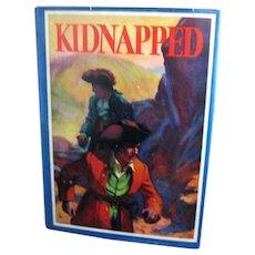 """Kidnapped"", 1932 Edition by R. L. Stevenson, Illustrated by Manning de V. Lee"