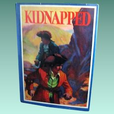 """Kidnapped"", 1932 Edition by R. L. Stevenson, Illustrated by Manning de V. Lee"