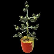 1920's-'30's Glass Beaded Miniature Christmas Tree