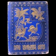 1876 Scrapbook has Trade Cards, Scraps, Rewards of Merit, Baseball
