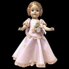 "Hard Plastic 15"" Karen Ballerina Madame Alexander Doll, Original Gown"