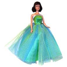 """1963 Mattel MIDGE Doll in Original """"Senior Prom"""" Gown"""